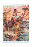The First Englishman to See the Pacific Giclee Print by Arthur A. Dixon