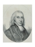 Reverend Edmund Nelson, Published by C. Muskett, 1845 Giclee Print by W.c. Edwards