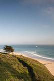 View of Cap De Carteret Beach, Barneville-Carteret, Normandy, France Photographic Print by Walter Bibikow