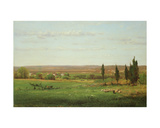 Near Eagleswood, 1869 Giclee Print by George Snr. Inness