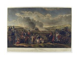 His Majesty Reviewing Troops on Blackheath, 1787, Etched by R. Pollard, Printed 1797 Giclee Print by W.h. Mason
