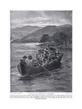 Elfwald's Son Drowned in Windermere Ad788, 1920's Giclee Print by Henry A. Payne