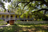 Laura' Historic Antebellum Creole Plantation House, Louisiana, USA Photographic Print by Cindy Miller Hopkins