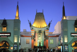 Grauman's Chinese Theatre, Los Angeles, California, USA Photographic Print by Peter Bennett