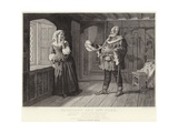 Falstaff and Mrs Ford, Merry Wives of Windsor, Act III, Scene III Giclee Print by J.M.L. Ralston