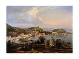 View of the Church of Nossa Senhora Da Gloria De Outeiro, Brazil, 1838 Giclee Print by Thomas L. Hornbrook