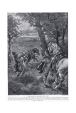 The Death of William Rufus Ad1100, 1920's Giclee Print by Henry A. Payne