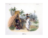 Poor People, 1827-35 Giclee Print by M.E. Burnouf