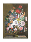 Still Life with Flowers, 18th Century Giclee Print by J.A. Simson