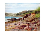 Kingsland, Cornwall from Pickle Point Giclee Print by Thomas J. Purchas