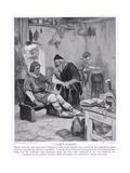 A Saxon Surgery, 1920's Giclee Print by Arthur A. Dixon