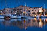 Town Marina at Dusk, Propriano, Corsica, France Photographic Print by Walter Bibikow