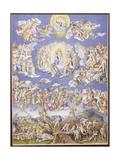 Last Judgement (After Michelangelo), C.1570 Giclee Print by Giorgio-giulio Clovio
