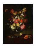 Vase and Flowers, 1655 Giclée-Druck von Adriaen Pietersz. Van De Venne