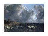 Storm Off Egmond-Aan-Zee Giclee Print by Jacob Isaaksz. Or Isaacksz. Van Ruisdael