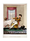 A Most Infernal Bad Egg, Print Made by H Pyall, 1827 Giclee Print by M. Egerton