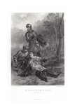 The Death of the Earl of Warwick Giclee Print by John Adam P. Houston