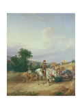 Harvesting Scene Giclee Print by William Snr. Shayer