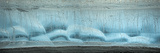 Ice Formation Panorama, Kongakut River, ANWR, Alaska, USA Photographic Print by Tom Norring