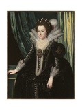 Elizabeth of Bohemia, the Winter Queen, Early 1620s Giclee Print by Michiel Jansz. van Miereveld