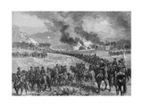 The Rear-Guard: General Custer's Division Retiring from Mount Jackson, October 7th 1864,… Giclee Print by Alfred R. Waud