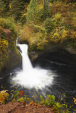 Punch Bowl Falls, Columbia River Gorge, Oregon, USA Photographic Print by Jamie & Judy Wild