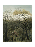 Rendezvous in the Forest, 1889 Giclee Print by Henri J.F. Rousseau