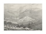 Ottacamund, View of the Great Dodabetta, Neelgherry Mountains, Plate 4 from 'View of the… Giclee Print by Captain E. A. McCurdy