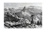 On the March Near Dongolo, Engraved by James Ferguson, 1868 Giclee Print by Major A.g.f. Hogg