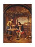 The Traveller's Rest Giclee Print by Jan Havicksz. Steen
