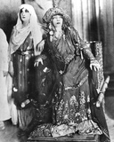 Sarah Bernhardt (1844-1923) and Marguerite Moreno (1871-1948) in 'Athalie', a Play by Jean Racine… Photographic Print by A. Bert