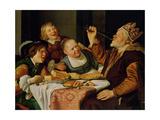 A Feast Lámina giclée por Jan Gerritsz. van Bronckhorst