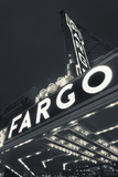 Fargo Theater Sign, Fargo, North Dakota, USA Photographic Print by Walter Bibikow