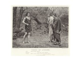 Timon of Athens, Timon of Athens, Act V, Scene I Giclee Print by J.M.L. Ralston