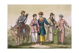 Taguri Tatars of the Crimea, from 'Costume Dei...' by Giulio Ferrario, C.1820s-30s Giclee Print by D.k. Bonatti
