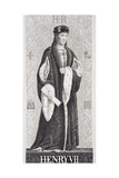 Henry VII (1457-1509) from 'Illustrations of English and Scottish History' Vol I Giclee Print by J.l. Williams