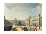 Somerset House, Strand, from 'Ackermann's Microcosm of London', Engraved by John Bluck… Giclee Print by T. & Pugin Rowlandson
