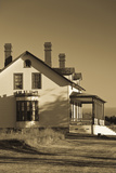 Custer House, Fort Abraham Lincoln Sp, Mandan, North Dakota, USA Photographic Print by Walter Bibikow