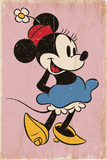 Minnie Mouse - Retro Pósters