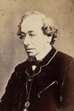 Benjamin Disraeli, 1873 Photographic Print by W. And D. Downey