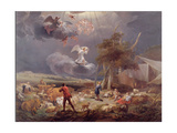 The Annunciation to the Shepherds, 1656 Giclee Print by Nicolaes Pietersz. Berchem