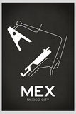 MEX Mexico City Airport Plastic Sign Plastic Sign