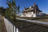 Custer House, Fort Abraham Lincoln Sp, Mandan, North Dakota, USA Photographic Print by Walter Bibikow