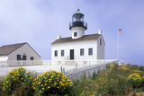 Point Loma Lighthouse, San Diego, California, USA Photographic Print by Peter Bennett