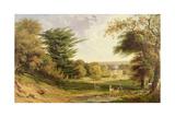 Mereworth Park, Kent Giclee Print by John F. Tennant