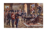What are You Doing to Guard the Homes of England Giclee Print by Henry A. Payne