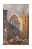 View of Ely Chapel, 1815 Giclee Print by J. P. Neale