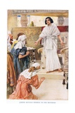Joseph Reveals Himself to His Brothers Giclee Print by Arthur A. Dixon