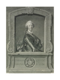 Prince Charles Edward Stuart (1720-88), Engraved by J.G. Wille, 1748 Giclee Print by Louis M. Tocque