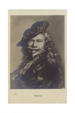Rembrandt, Dutch Painter and Printmaker Giclee Print by Rembrandt Harmensz. van Rijn